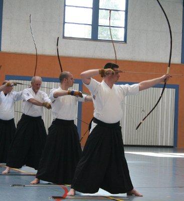 Die Kyudo-Gruppe-Lüneburg bei der Niedersachsen-Meisterschaft 2011